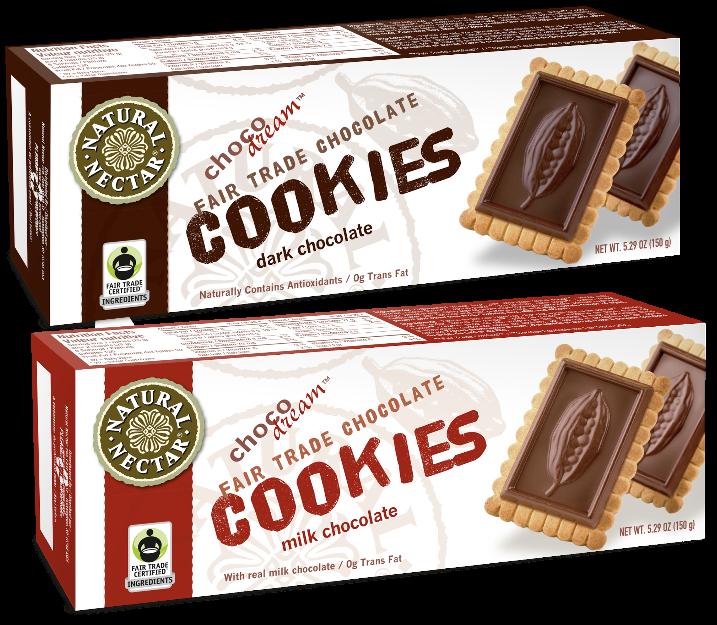 ChocoDream Fair Trade Cookies Image