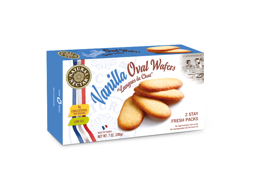 Vanilla Oval Wafers Image