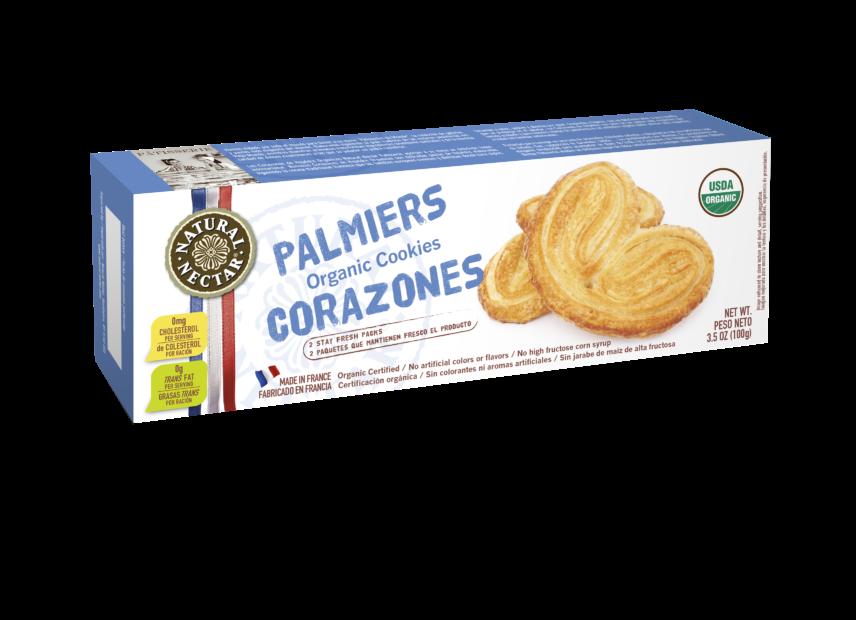 Organic Palmiers Cookies Image